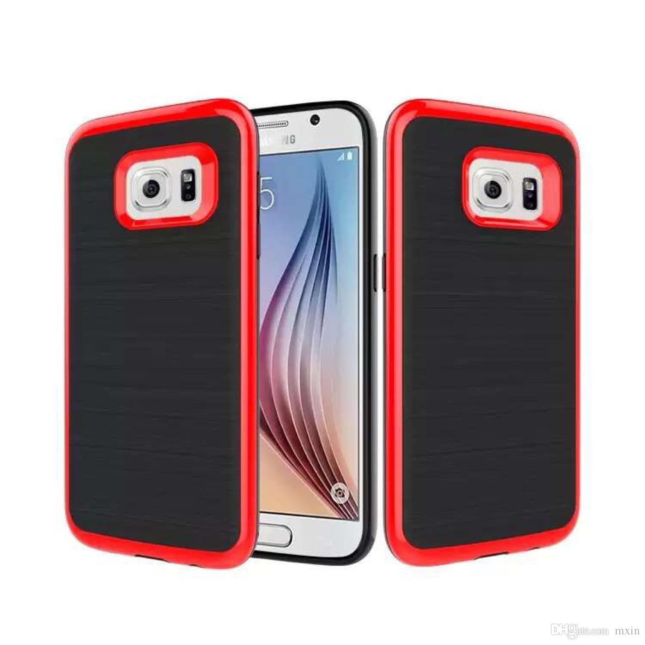 Motomo Brushed 3 In 1 Tpu Pc Hybrid Slim Armor Case For Samsung Metal Bumper With Cover Galaxy A5 2017 A520 On5 On7 J2 J5 J7 Prime J3 A3 A7 Zte Zmax Z981 Online 148 Piece On