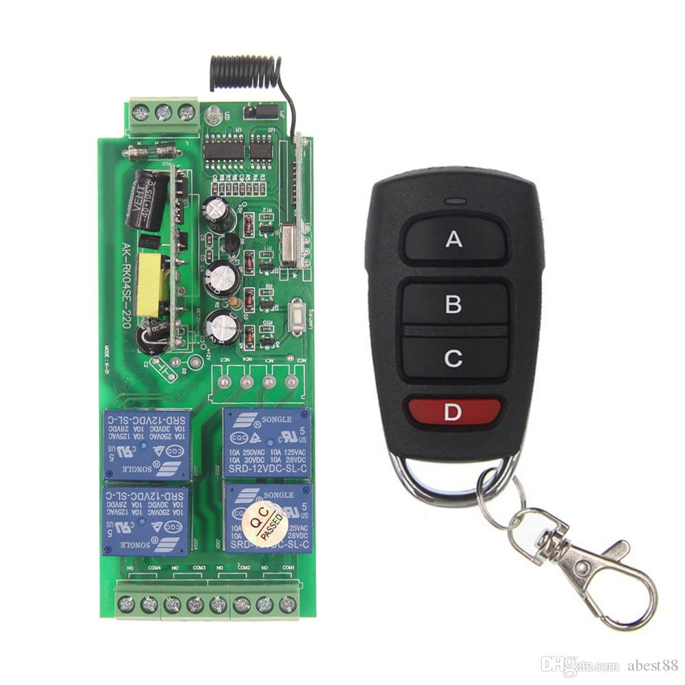 Remote Control Switch 110v Kedsumr Wireless 1 Way On Off Digital For Ac Channel System Receiver Transmitter 1000x1000