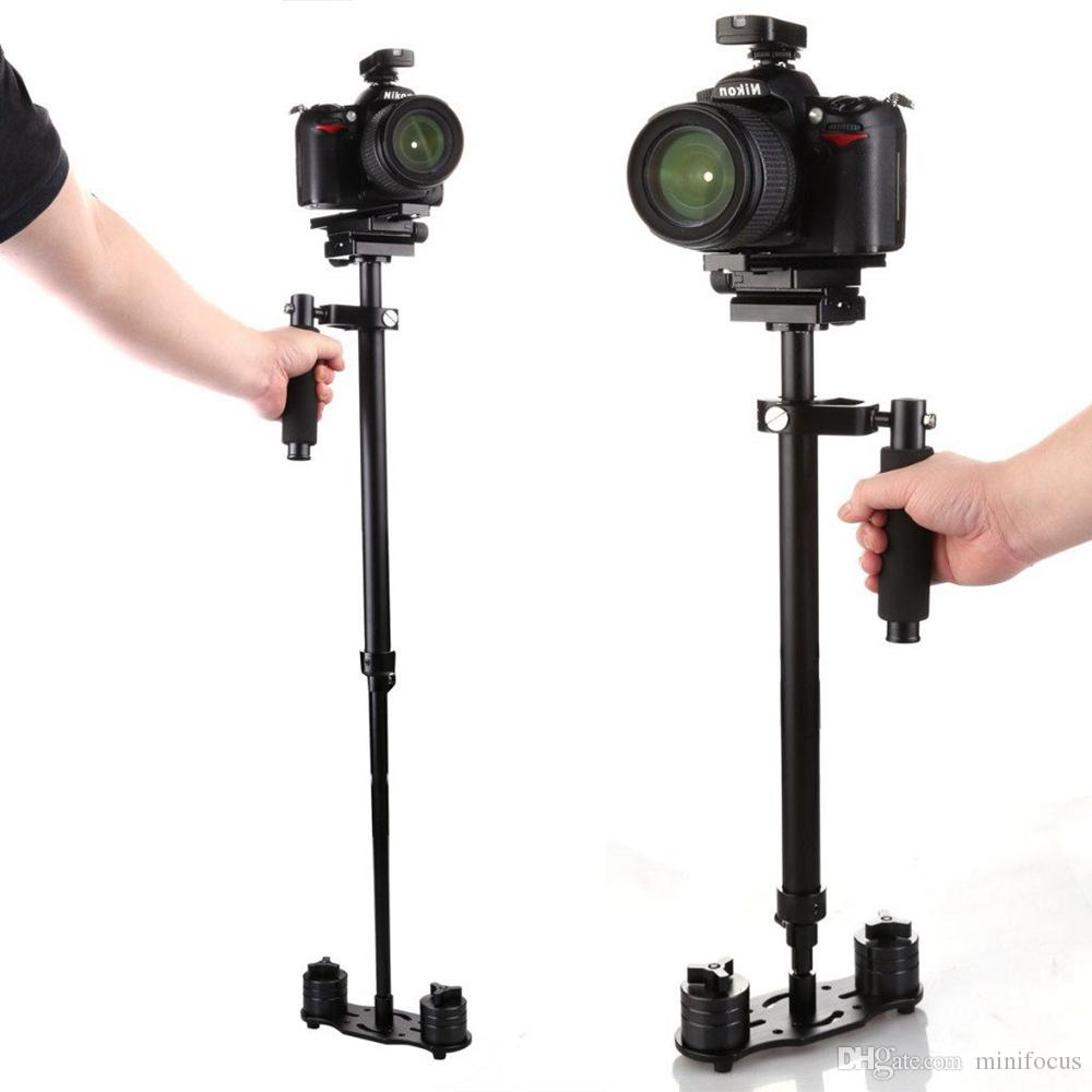 2019 S80 Portable S 80 Max Hight 0.8M Handheld Stabilizer Pro Version For  Camera Video DV DSLR Weight Bearing Capability 0.5 5 Kg80 Cm From  Minifocus 3fdde8b82