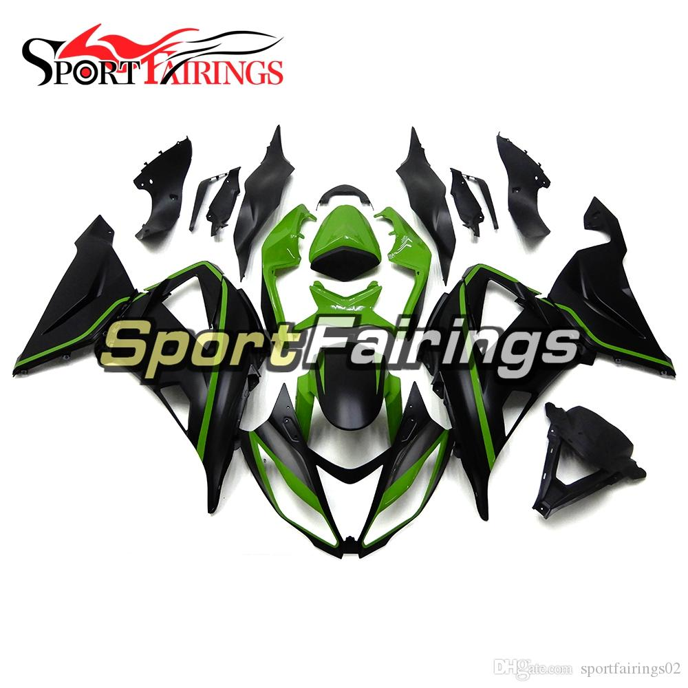 Injection Fairings For Kawasaki Zx6r 636 13 16 2013 2016 Abs Plastic ...