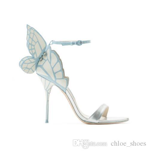 2017 New Shoes Woman Back Butterfly