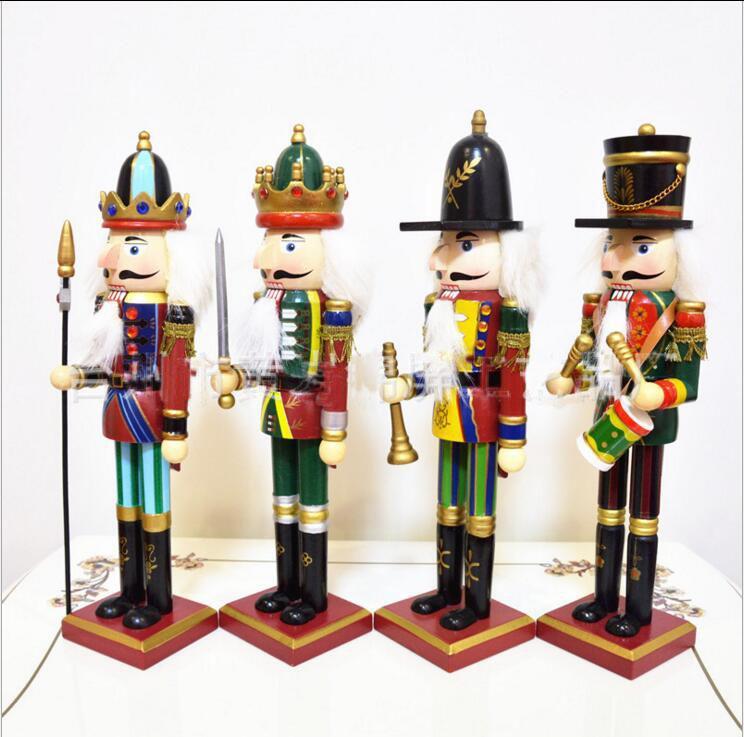 30cm Soldats De Marionnettes Casse-Noisette Décorations pour La Maison de Noël pour Creative Ornaments