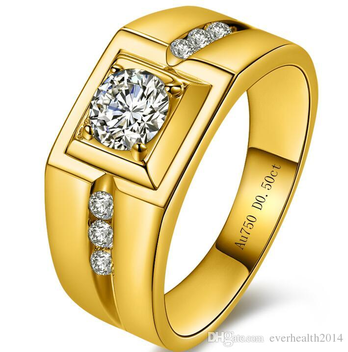 Bague or 24 carats homme
