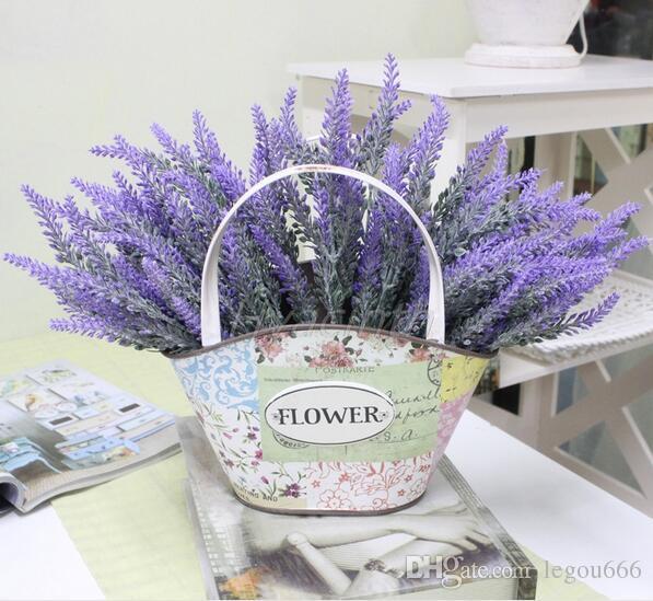 Gro handel provence dekoration lavendel blume seide - Dekoration lavendel ...