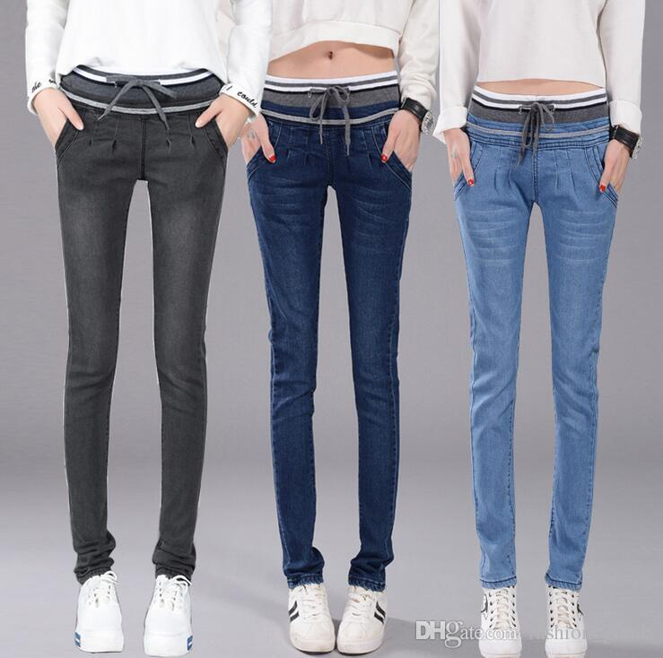 Femme Slim Acheter Taille Mince Était Jeans Rpw0rqrz Élastiquée Pantalon tRwqwB