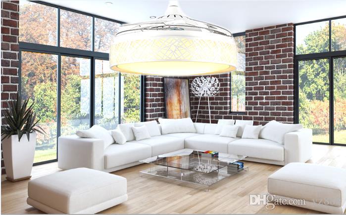 Großhandel Ezer Global Einfache Moderne Nest Deckenventilator Licht  Schlafzimmer Wohnzimmer Esszimmer Unterstützung Für Ome Von Yz888, $300.51  Auf De.