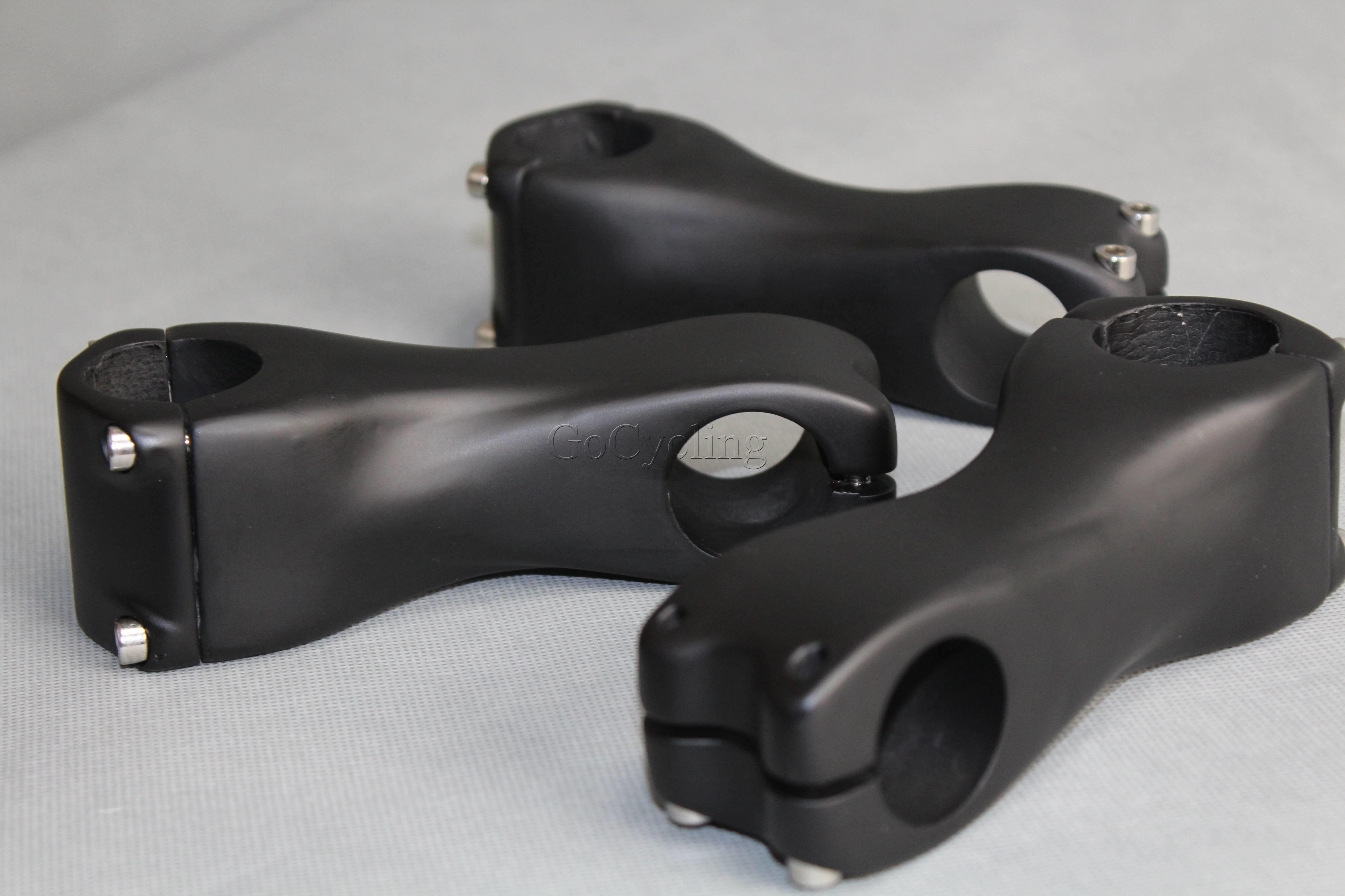 MTB الطريق دراجة الكربون الجذعية ألياف الكربون الجذعية الناهض 31.8mm الأحجام 90 100 110 120 130MM زاوية 6
