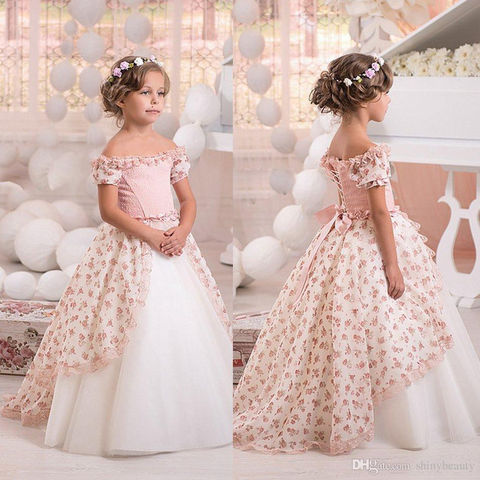 Wedding Gown Patterns With Sleeves: Bateau Short Sleeves Ball Gown Hand Made Flower Lace Up