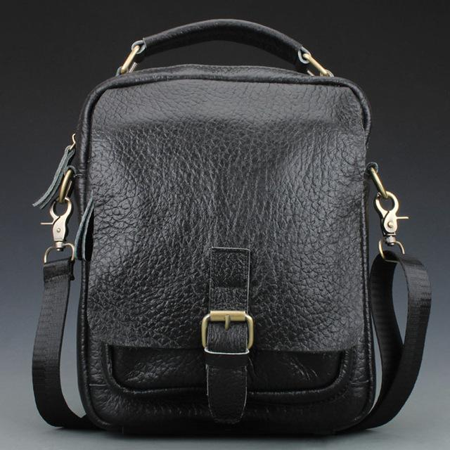 4b179aa89d Wholesale Men S 100% Genuine Leather Handbags Designer Handbags Best Brand  Men S Shoulder Bag Messenger Messenger Western Purses Leather Backpack Purse  From ...