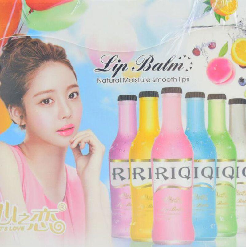 Wholesale ROI Wine Bottle Lipstick Lip Balm Moisturizing Lip Cute Beauty Makeup Lip Care Lipbalm Make Up