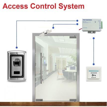 2019 Fingerprint Door Access Control System For Frameless