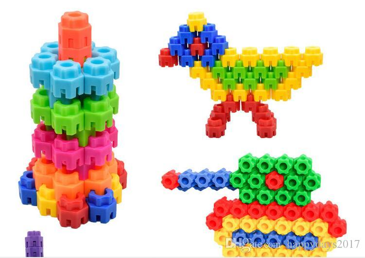 wholesale Bullet Building Blocks toys early education puzzle Education ToysKindergarten games teaching utensils children gifts