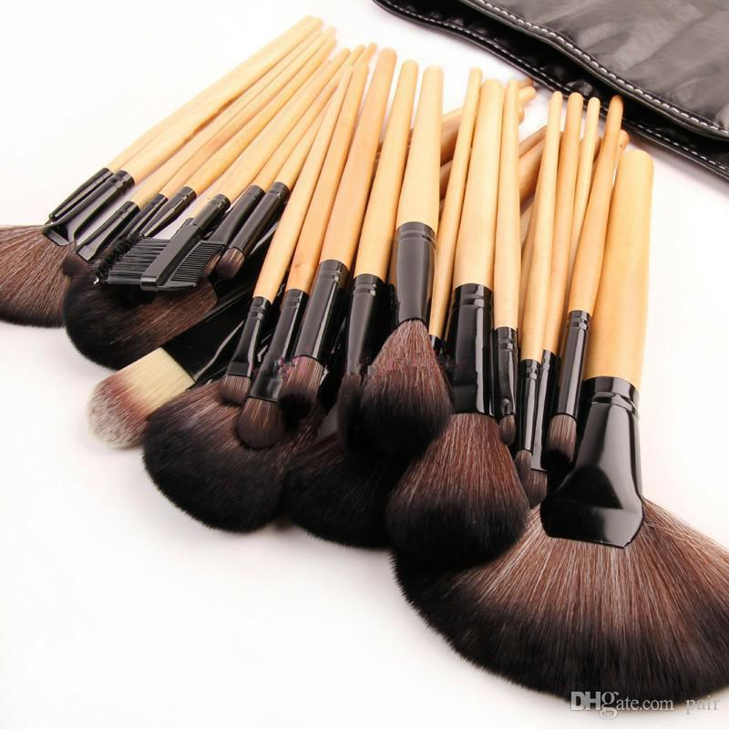 Print Logo Makeup Brushes Professional Cosmetic Make Up Brush Set The Best Quality