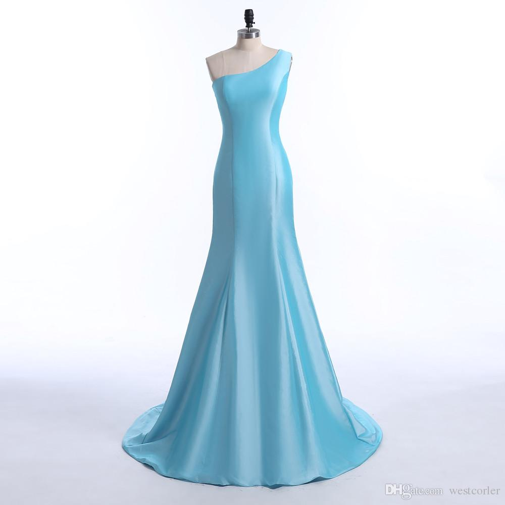 Dorable Baile Vestido De Color Azul Claro Ideas Ornamento ...