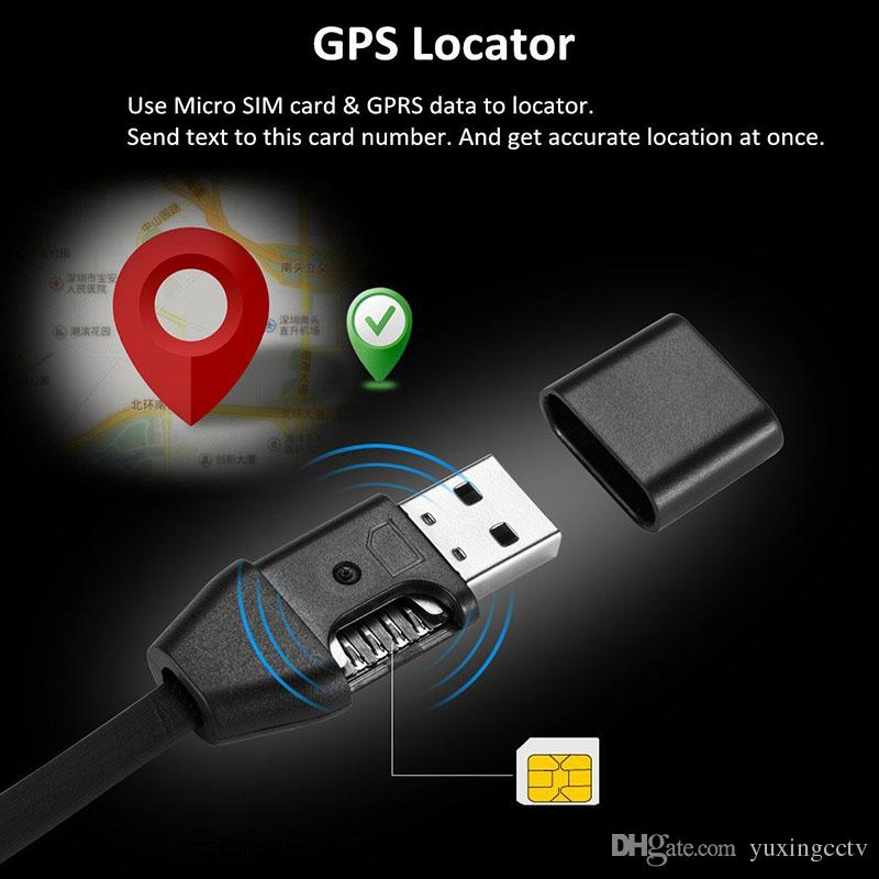 2019 Mini GPS Tracker USB Charger Cable, Real Time GSM ...