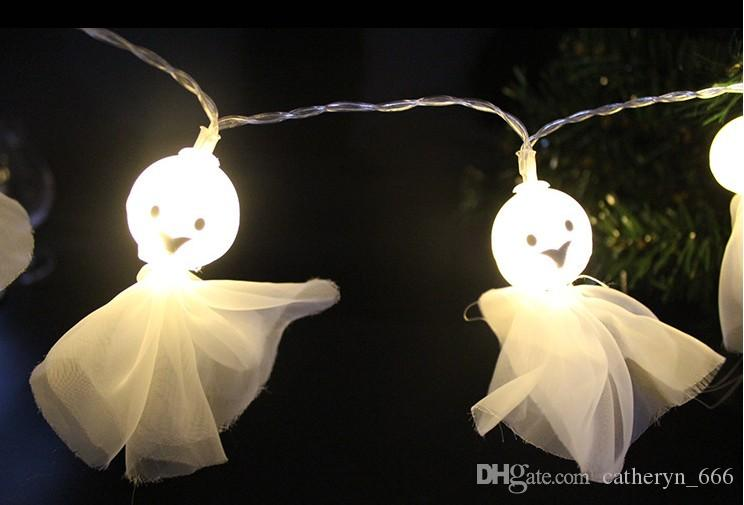 Halloween Ghost Lights | Halloween Ghost String Light Led Holiday Party Lighting Decoration
