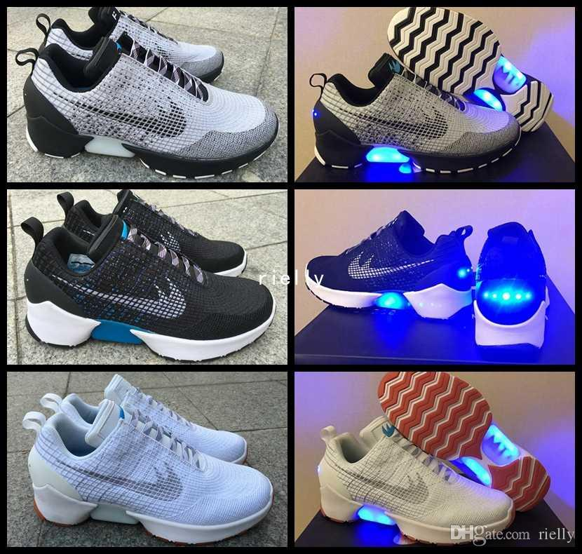 watch 39336 0b690 nike hyperadapt 1.0 chaussures pour vente acheter hyperadapt 1.0 air mag  retour À future hommes chaussures de course eclairage mags glow in