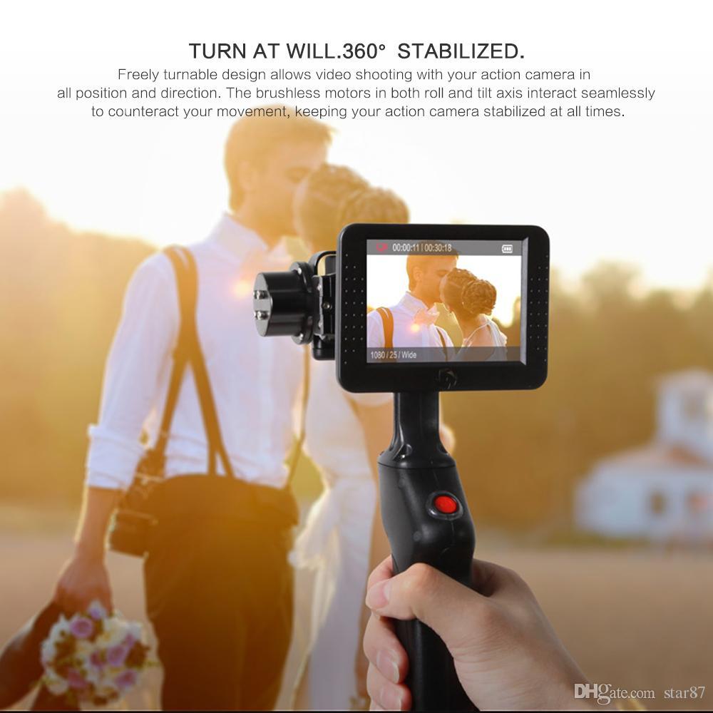 Original WenPod GP1 + Abenteuer Kamera Stabilizer Handheld Gimbal mit 3,5