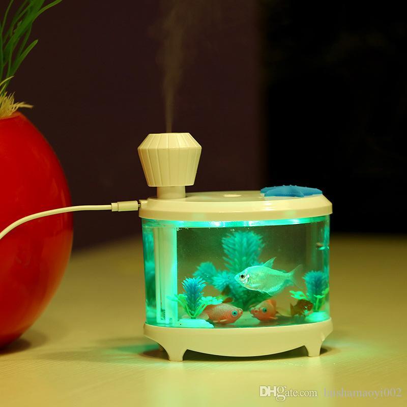 Superb 2018 Usb Mini Fish Tank Lamp Humidifier Clean Air Humidifier Soft And  Luminous Light 5v From Laishamaoyi002, $18.97   Dhgate.Com