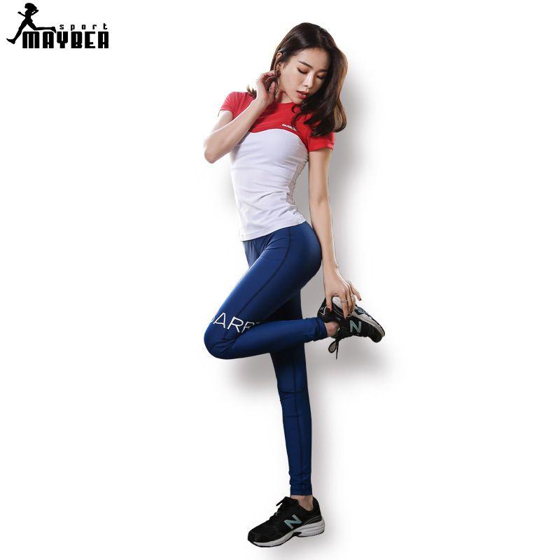 Costume Acheter Yoga Femmes Mayber Sport Fitness Running Shirt T zxCZfH