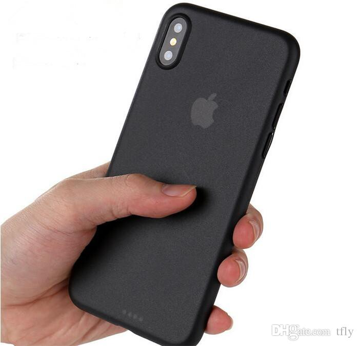 New 0.3mm Ultra Thin Slim Case Matte Frosted Flexible Soft PP Lens Protection Full Cover For iPhone XR XS MAX X 8 7 6 Plus Samsung S9 Plus