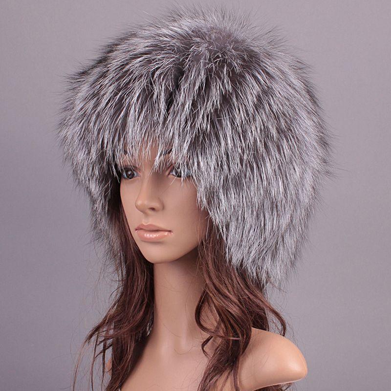 Women Fur Hats Winter For Men Luxury Real Raccoon Fur Genuine Fox Fur Warm  Caps Female Beanies Russian Solid Unisex Russian Hat Beanies For Men  Trucker Caps ... a8c68aea10c6