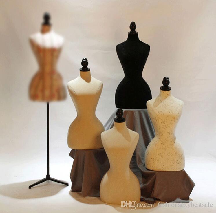 Moda all'ingrosso 8style mezzo corpo modello modello modello modello femmina modello schaufensterpuppe cosmetologia cucito-manichino vestiti B588