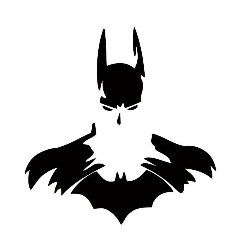 2018 2017 Hot Sale Car Stying Batman Dark Knight Symbol Sticker