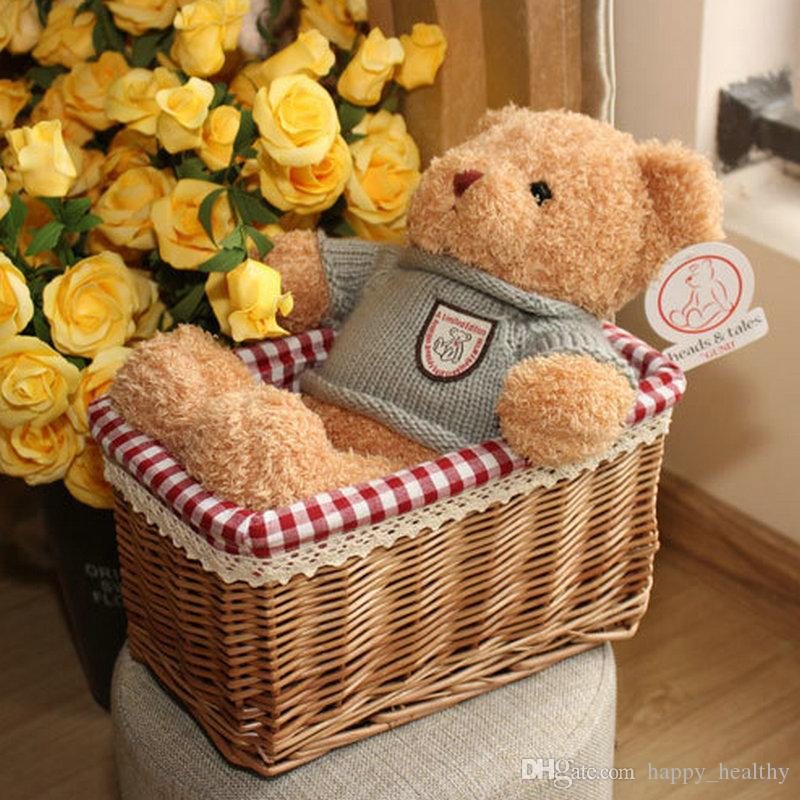 TEDDY BEAR Plush toys Hold pillow cartoon Stuffed Plush doll baby Gifts Creative cute doll Christmas birthday present Valentine's Day
