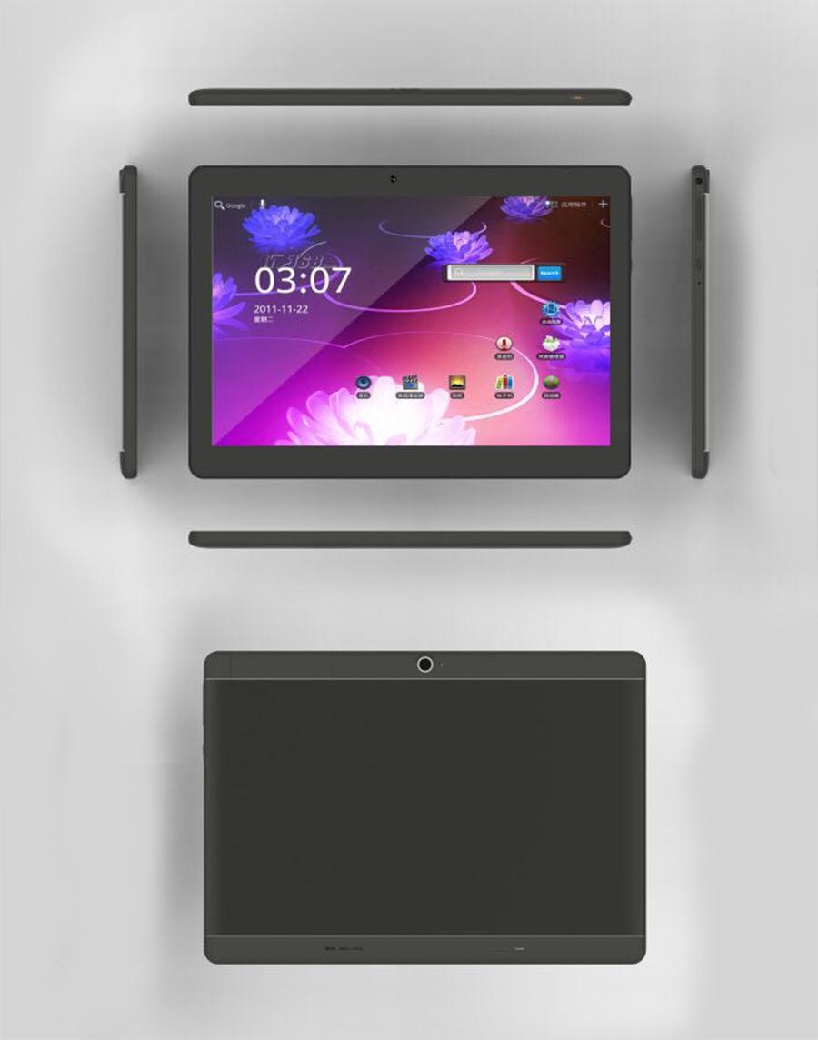 10.1 inch 10.1inch Android 6.0 Quad Core 3G Phone call 1GB RAM 16GB ROM Dual SIM Card Bluetooth GPS IPS TabletsFalse show 4GB 64GB