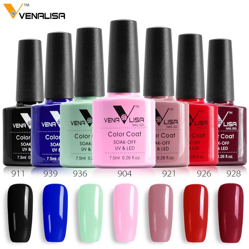 Factory Supply Venalisa Nail Diy Soak Off Gel Uv Led 7.5ml Nail Art ...