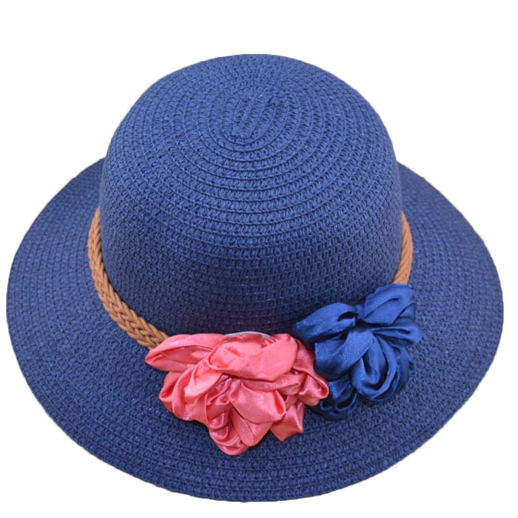 Wholesale Super Fashion Summer Straw Hat Spring Flower Floral Girl Ladies  Hat Cap Beach Foldable Sun Hat Fedora Hats For Women Hat Shop From  Value111 5cf950fb0af