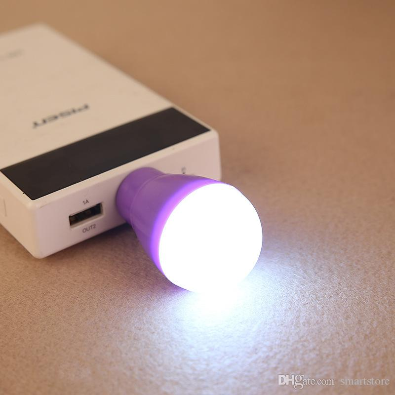 Mini USB portatile LED Light Lampadina Computer Periferica Gadget PC portatile Spedizione gratuita 0001