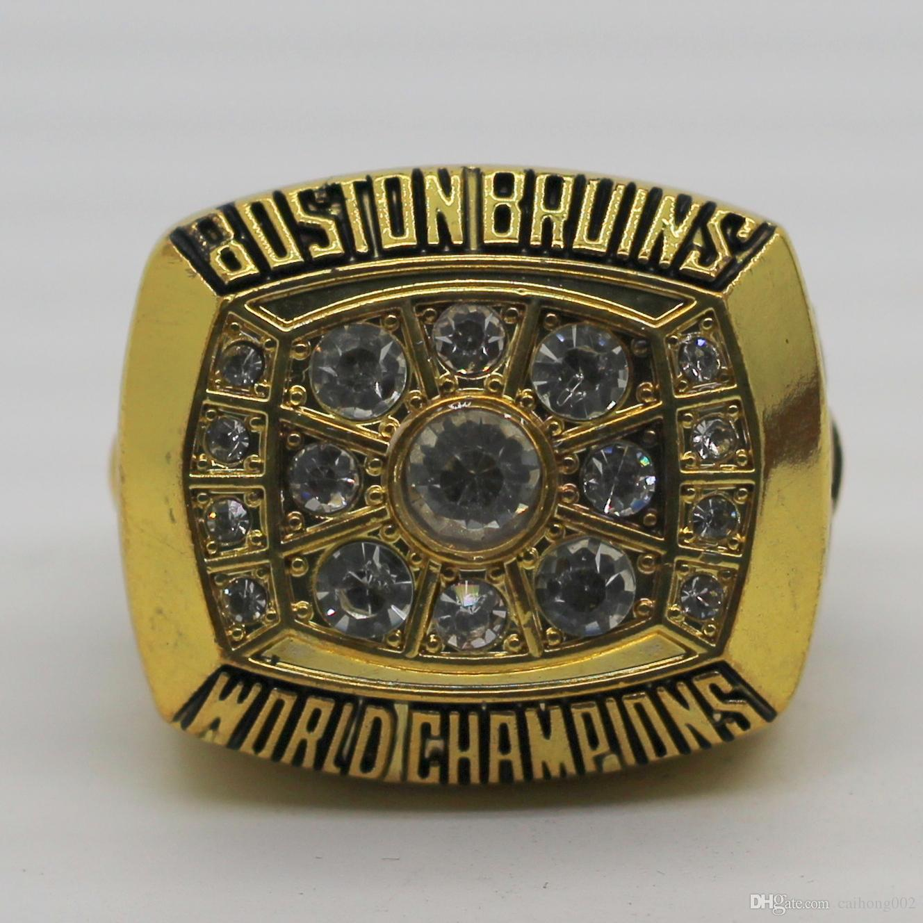 1972 Boston Bruins Stanley Cup World Championship Ring