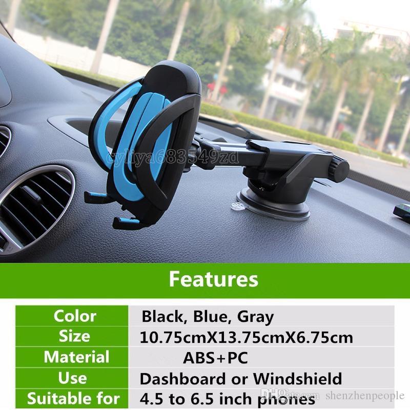 Для мобильного телефона / Xiaomi Redmi Мобильный Сотовый Телефон Автомобильный Держатель Авто Gps Аксессуар Присоски Sucker
