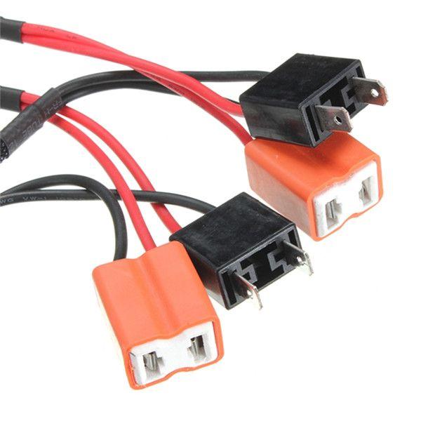 Venta caliente 2X H7 50 W 6Ohm Coche LED DRL Niebla Turn Singal Resistor de Carga Canbus Error Libre Wiring Canceller Decoder