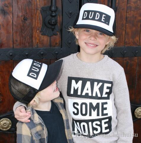 9071872d 2019 DongKing Trucker Hat DUDE Print Cap Father Mom Son Trucker Dude Hat  Kids Child Baby Adult Mesh Baseball Caps Gift 32826111856 From Chenhuisu,  ...