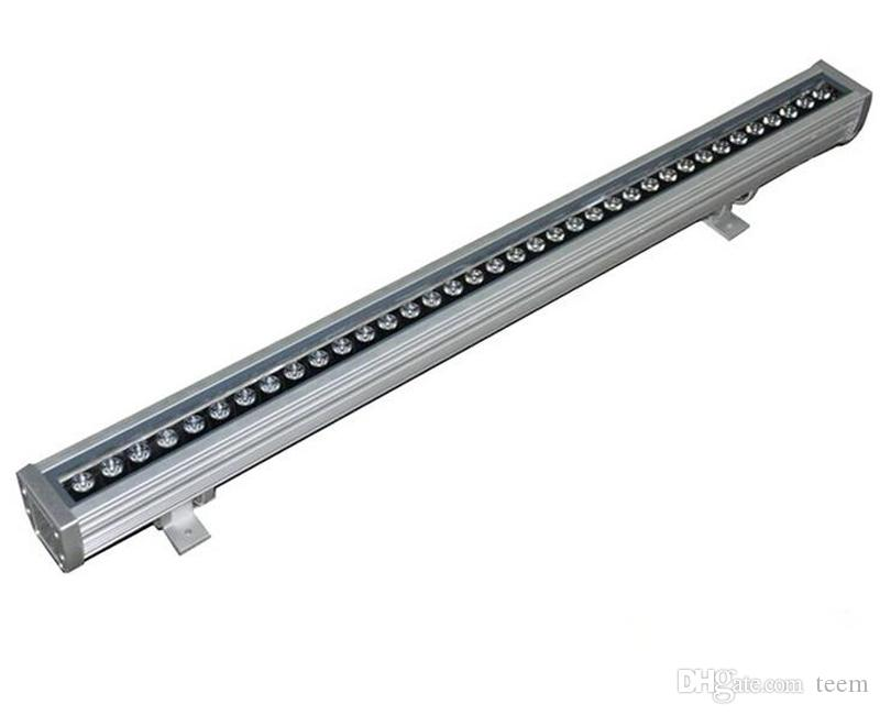 18W 36W LED bañador de pared RGB 36W pared de lavado lámpara LED mancha de inundación barra de luces luces barlight reflector LED paisaje iluminación exterior CCC