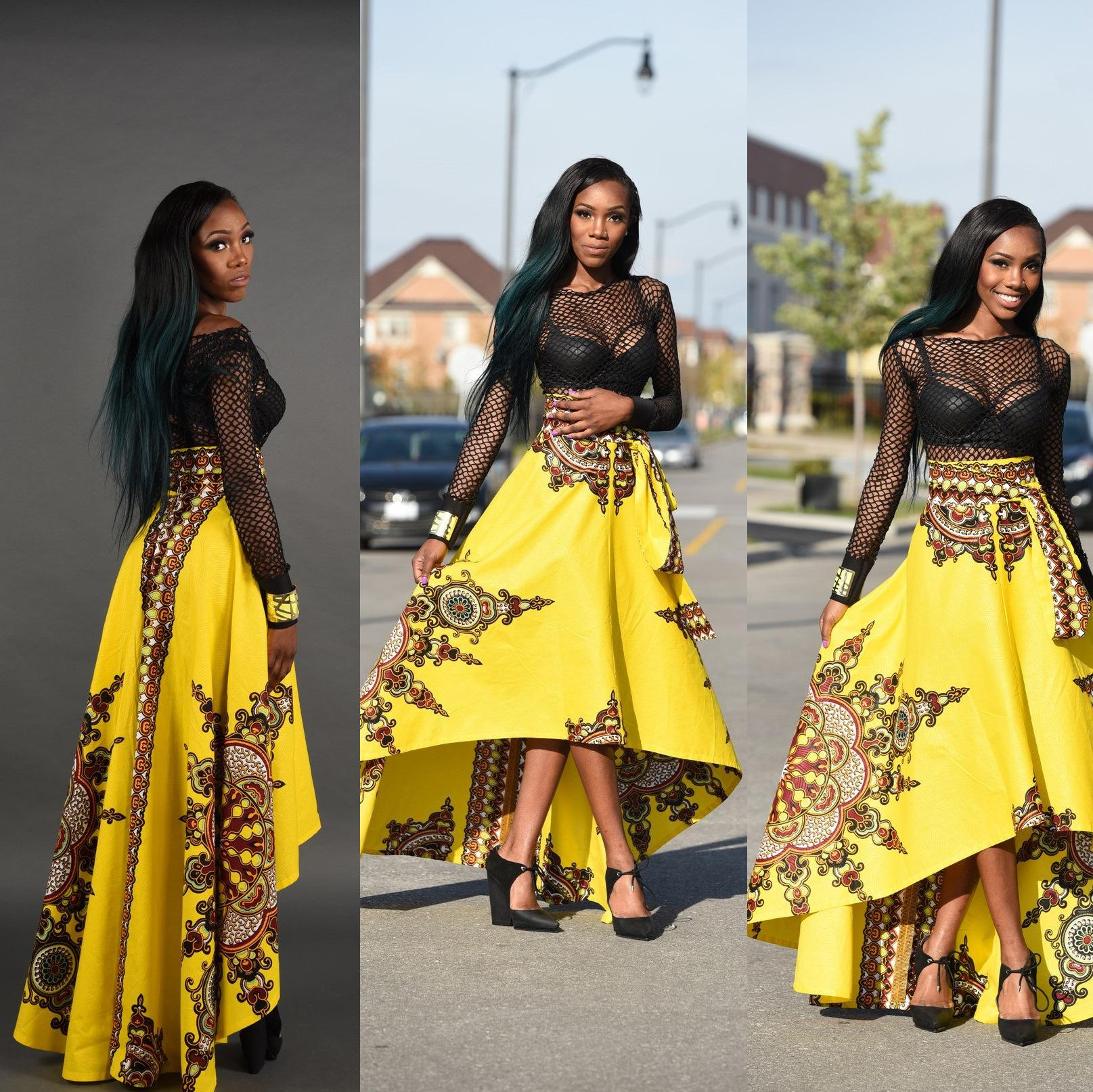 African Print Fashion: Hot Sale New Fashion Design Traditional African Clothing