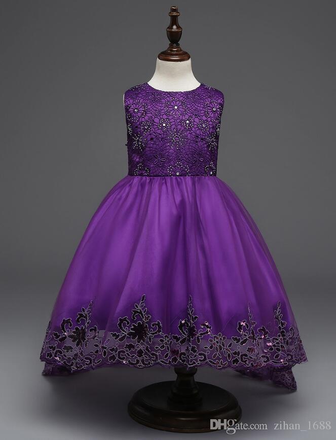 Moderno Vestido De La Dama De Honor Del Niño Motivo - Vestido de ...