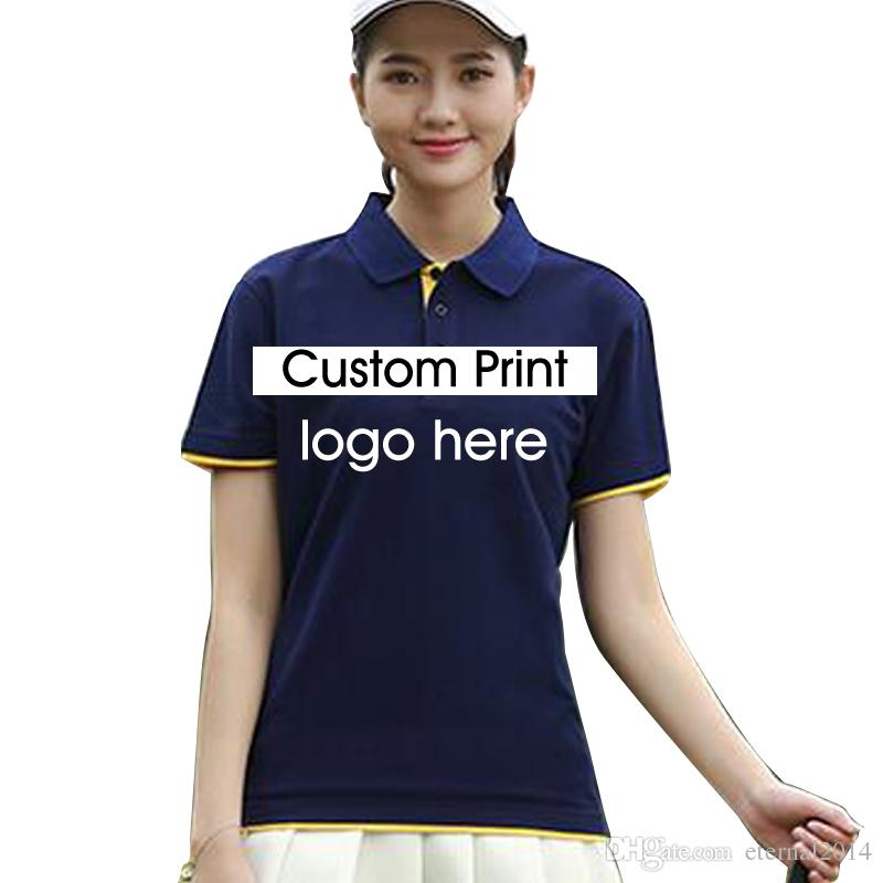 fd2a07b82 2019 China Whosale Custom Polo Shirt Screen Printing Embroidery Women Men  Unisex Print Graphic Embroidery Logo Digital Print XXXL Printed Shirt From  ...