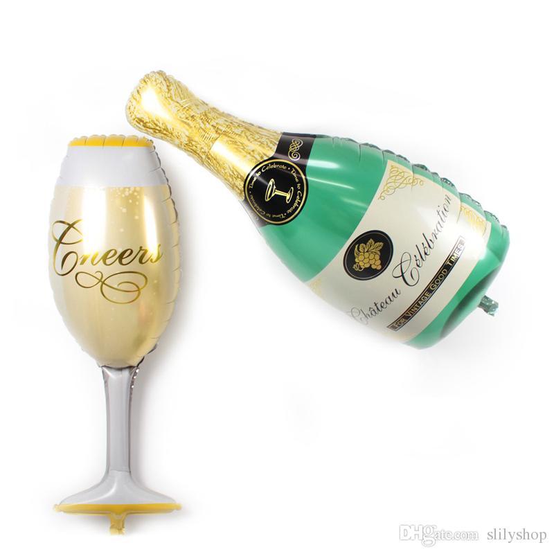 행복한 웨딩 파티 맥주 결혼 플러레 풍선, 큰 크기 파티 신부 신년 웨딩 풍선 축하 파티 장식 풍선