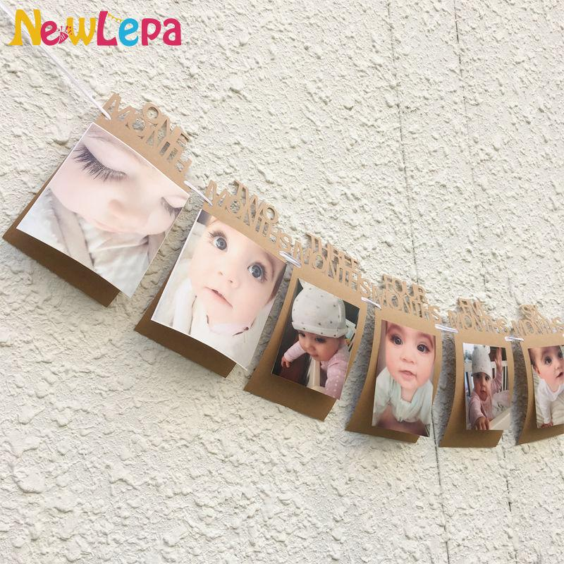 Discount Wholesale Diy Monthly Paper 1st One Year Photo Booth ...