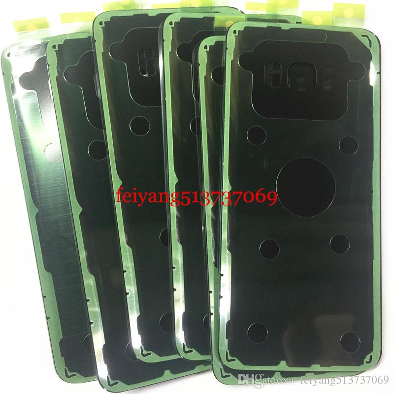 30 adet Orijinal Pil Kapı Arka Konut Kapak Cam Kapak Yapıştırıcı Sticker ile Samsung Galaxy S8 G950 G950P S8 Artı G955
