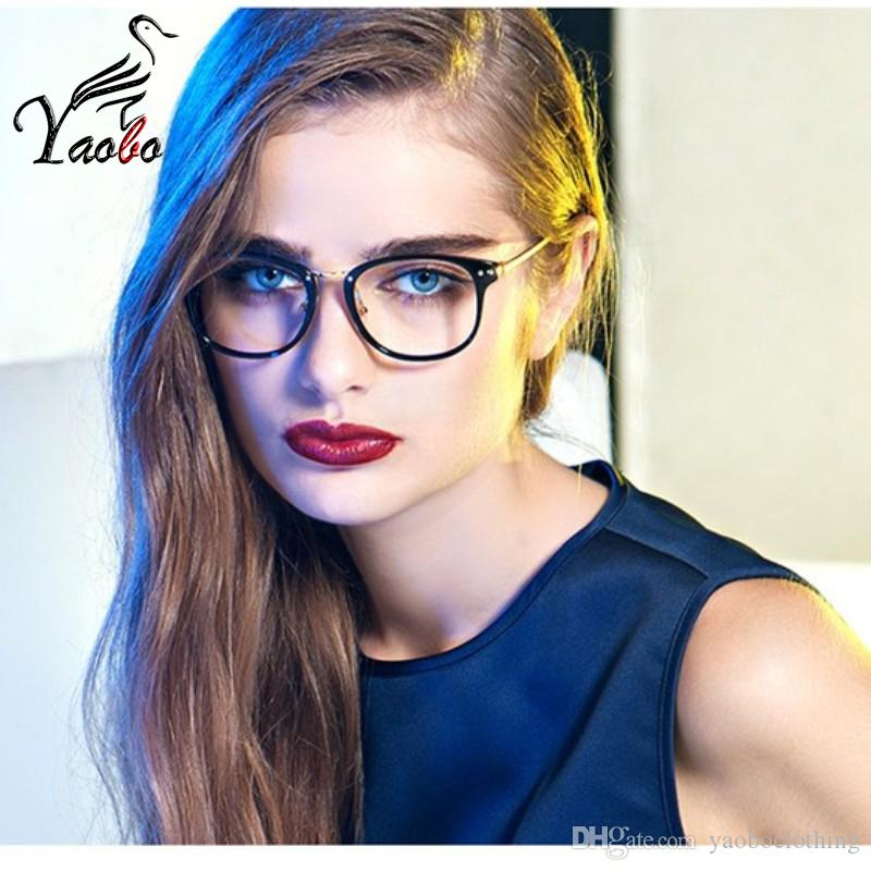 d567714a50 2019 Yaobo Fashion Reading Eyeglasses Optical Glasses Frames Glasses Women  New Cat Eye Frame Ultra Light Frame Clear Glasses Square From  Yaoboclothing