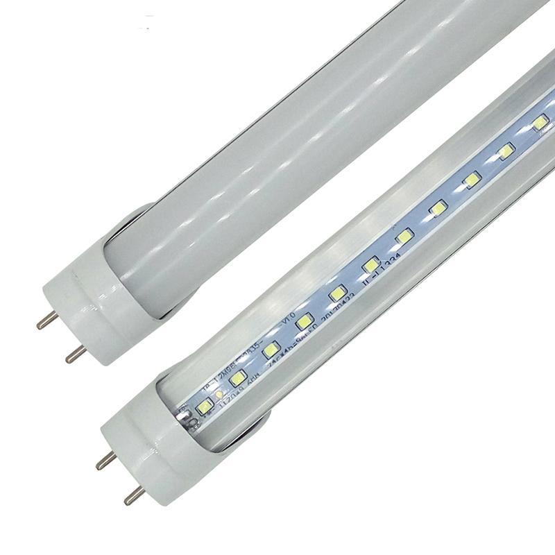LED T8 أنبوب 0.6 متر 2ft 12 واط 1100lm smd 2835 مصابيح ضوء 2 قدم 600 ملليمتر 85-265 فولت أدى الإضاءة الفلورسنت