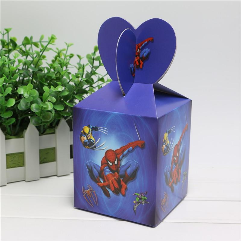 Wholesale Baby Shower Favors Spider Man Favor Box Candy Box Birthday Party  Souvenir Boy/Girl Kids Event U0026 Party Supplies Christmas Wholesale Gift  Wrapping ...