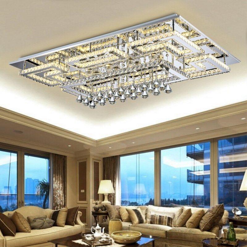 Acheter Lampe De Plafond Moderne Moderne En Plafonnier Plafonnier K9