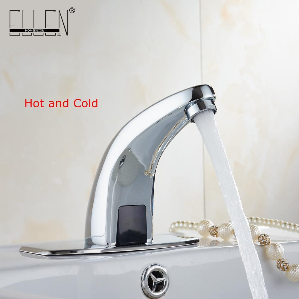 Online Cheap Hot And Cold Automatic Hands Touch Free Sensor Faucet ...