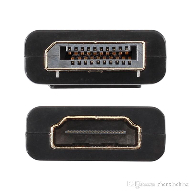 Gold/Nickel Plated Standard Display Port DisplayPort DP Male to HDMI Female Converter Cable Adapter 1080P Video Audio Connector